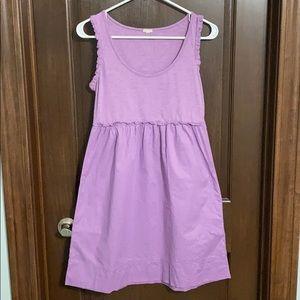 J Crew Purple Tank Top Dress